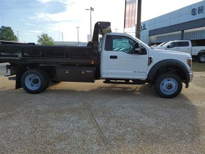 2019 F-550 Regular Cab DRW 4x4,  Rugby Eliminator LP Steel Dump Body #NA17664 - photo 7