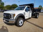 2019 F-550 Regular Cab DRW 4x4,  Rugby Eliminator LP Steel Dump Body #NA17664 - photo 3