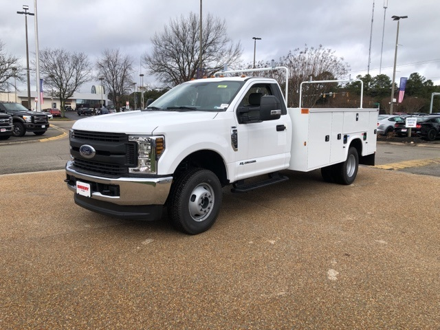2019 F-350 Regular Cab DRW 4x4, Knapheide Steel Service Body #NA20947 - photo 4