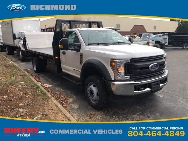 2019 F-550 Regular Cab DRW 4x2, Knapheide Platform Body #NA20960 - photo 1