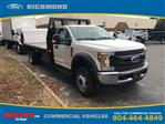 2019 F-550 Regular Cab DRW 4x2, Knapheide Heavy-Hauler Platform Body #NA20960 - photo 1