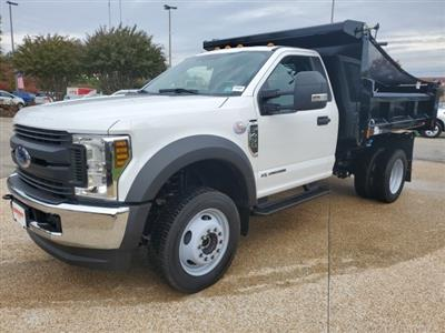 2019 F-450 Regular Cab DRW 4x4, Rugby Eliminator LP Steel Dump Body #NA23301 - photo 1