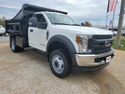 2019 F-450 Regular Cab DRW 4x4, Rugby Eliminator LP Steel Dump Body #NA23301 - photo 6