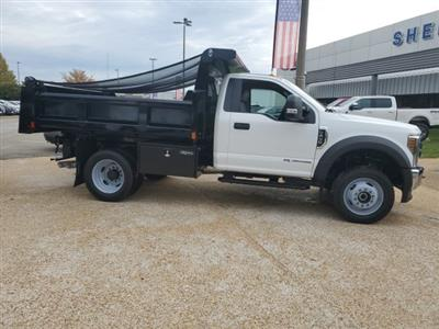 2019 F-450 Regular Cab DRW 4x4, Rugby Eliminator LP Steel Dump Body #NA23301 - photo 7
