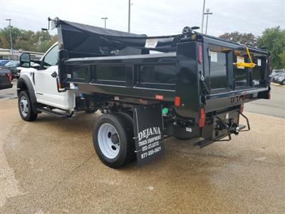 2019 F-450 Regular Cab DRW 4x4, Rugby Eliminator LP Steel Dump Body #NA23301 - photo 2