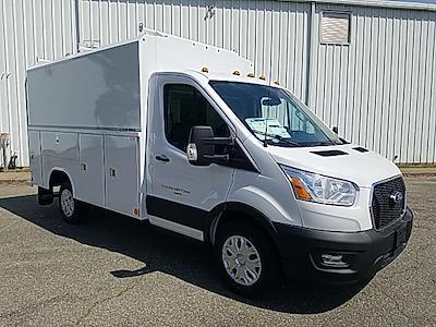 2021 Ford Transit 350 4x2, Reading Aluminum CSV Service Utility Van #NA23796 - photo 8