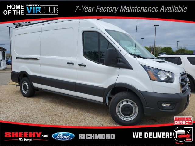 2020 Ford Transit 250 Med Roof RWD, Adrian Steel Commercial Shelving Upfitted Cargo Van #NA30165 - photo 1
