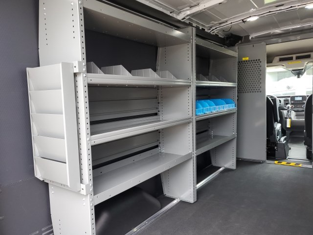 2020 Ford Transit 250 Med Roof RWD, Adrian Steel Commercial Shelving Upfitted Cargo Van #NA30165 - photo 12
