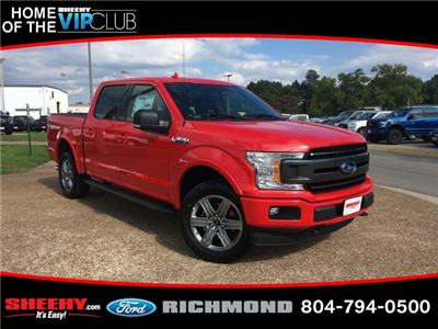 2018 F-150 SuperCrew Cab 4x4,  Pickup #NA42333 - photo 1