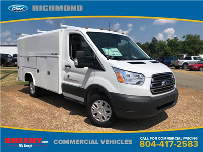2018 Transit 350 4x2,  Reading Aluminum CSV Service Utility Van #NA70462 - photo 1