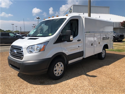 2018 Transit 350 4x2,  Reading Aluminum CSV Service Utility Van #NA70462 - photo 4