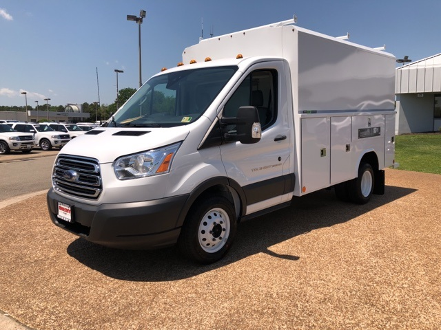 2018 Transit 350 HD DRW, Reading Service Utility Van #NA75645 - photo 3