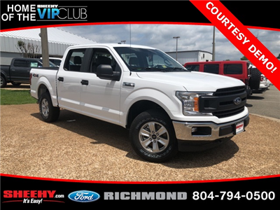 2018 F-150 SuperCrew Cab 4x4,  Pickup #NA77206V - photo 1