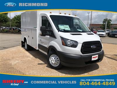 2019 Transit 350 HD DRW 4x2,  Reading Aluminum CSV Service Utility Van #NA80729 - photo 1