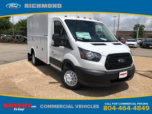 2019 Transit 350 HD DRW 4x2,  Reading Service Utility Van #NA80730 - photo 1