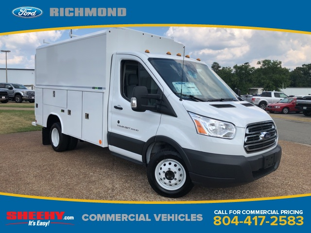 2018 Transit 350 HD DRW 4x2,  Reading Aluminum CSV Service Utility Van #NA91370 - photo 1