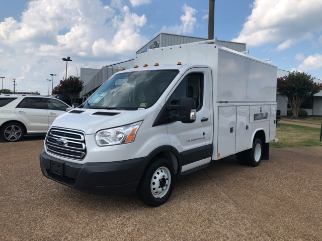 2018 Transit 350 HD DRW 4x2,  Reading Aluminum CSV Service Utility Van #NA91370 - photo 4