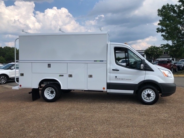 2018 Transit 350 HD DRW 4x2,  Reading Aluminum CSV Service Utility Van #NA91370 - photo 8