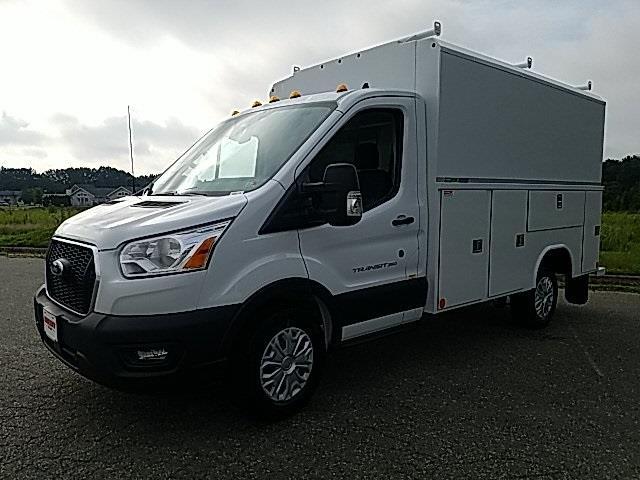 2020 Ford Transit 350 RWD, Reading Aluminum CSV Service Utility Van #NA97175 - photo 4