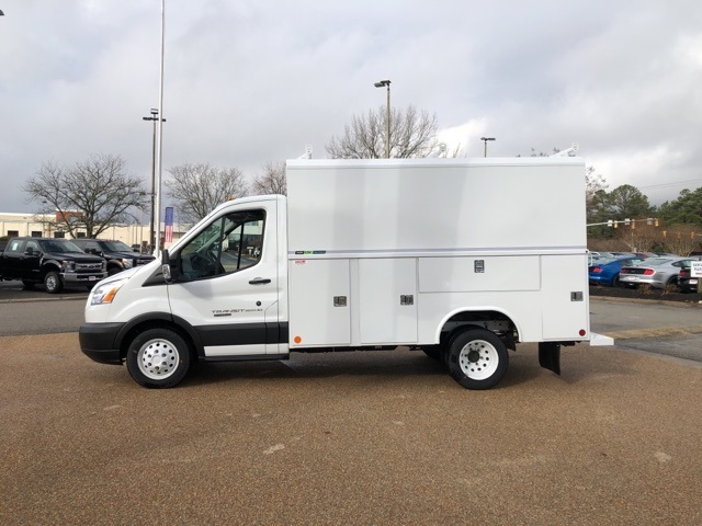 2019 Ford Transit 350 HD DRW 4x2, Reading Aluminum CSV Service Utility Van #NB40598 - photo 5