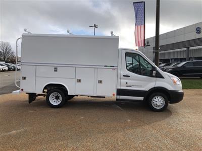 2019 Ford Transit 350 HD DRW 4x2, Reading Aluminum CSV Service Utility Van #NB40598 - photo 8