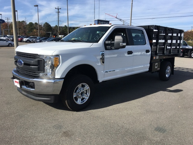 2017 F-350 Crew Cab 4x4, Knapheide Value-Master X Stake Bed #NB45549 - photo 3