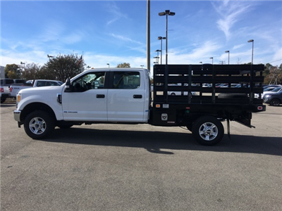 2017 F-350 Crew Cab 4x4, Knapheide Value-Master X Stake Bed #NB45549 - photo 4