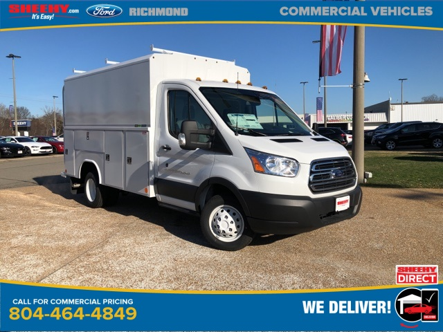 2019 Transit 350 HD DRW 4x2, Reading Service Utility Van #NB48382 - photo 1