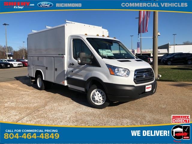 2019 Ford Transit 350 HD DRW 4x2, Reading Service Utility Van #NB48382 - photo 1