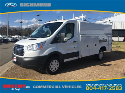 2017 Transit 350,  Reading Aluminum CSV Service Utility Van #NB51490 - photo 1