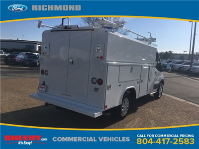 2017 Transit 350,  Reading Aluminum CSV Service Utility Van #NB51490 - photo 4