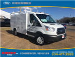 2017 Transit 350,  Reading Aluminum CSV Service Utility Van #NB51490 - photo 3