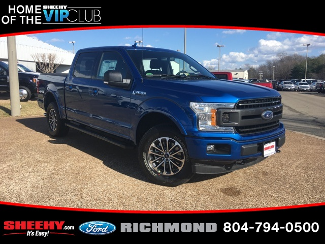 2018 F-150 Crew Cab 4x4, Pickup #NB52762 - photo 1