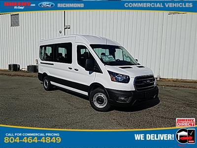 2020 Ford Transit 350 Med Roof 4x2, Passenger Wagon #NB58634 - photo 1