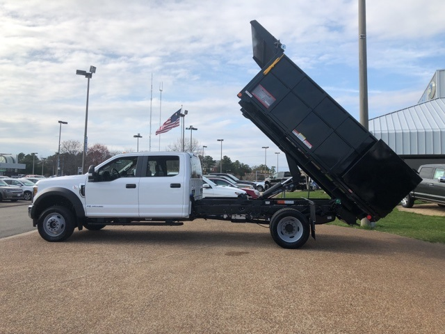 2018 F-450 Crew Cab DRW 4x4, Reading Landscape Dump #NB85377 - photo 13