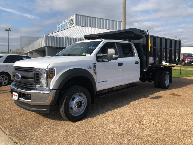 2018 F-450 Crew Cab DRW 4x4,  Reading Landscape Dump #NB85377 - photo 4