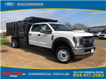 2018 F-450 Crew Cab DRW 4x4,  Reading Landscape Dump #NB85377 - photo 1
