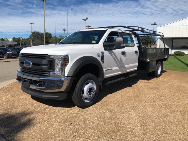 2018 F-550 Crew Cab DRW 4x4,  Reading Contractor Body #NB98913 - photo 4