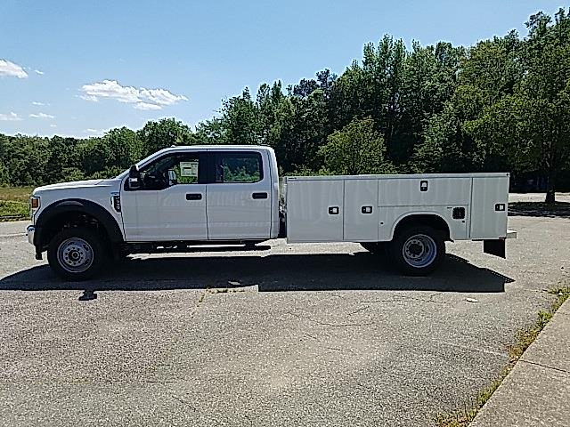 2021 Ford F-550 Crew Cab DRW 4x4, Knapheide Steel Service Body #NC13664 - photo 5