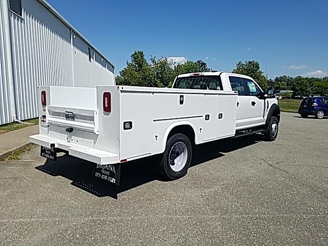 2021 Ford F-550 Crew Cab DRW 4x4, Knapheide Steel Service Body #NC13664 - photo 2