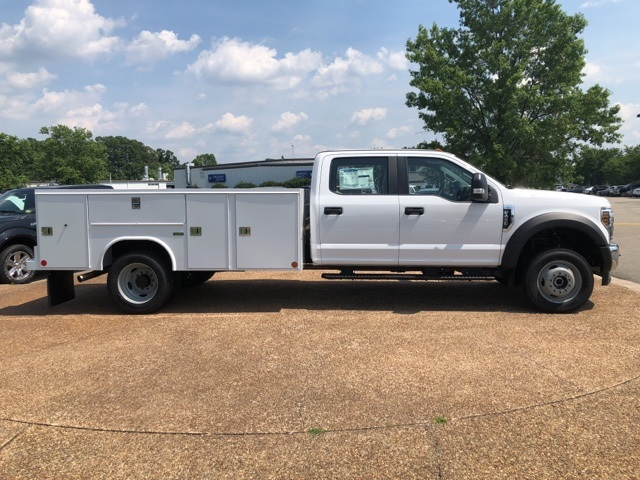 2018 F-450 Crew Cab DRW 4x4,  Reading Service Body #NC14061 - photo 8