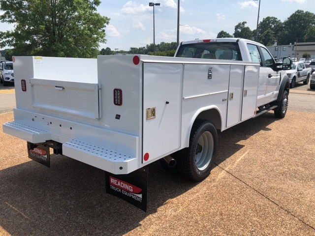 2018 F-450 Crew Cab DRW 4x4,  Reading Service Body #NC14061 - photo 2