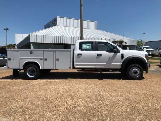 2018 F-550 Crew Cab DRW 4x4,  Reading Service Body #NC14062 - photo 8