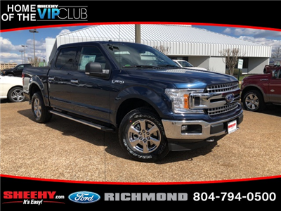 2018 F-150 SuperCrew Cab 4x4, Pickup #NC24713 - photo 1