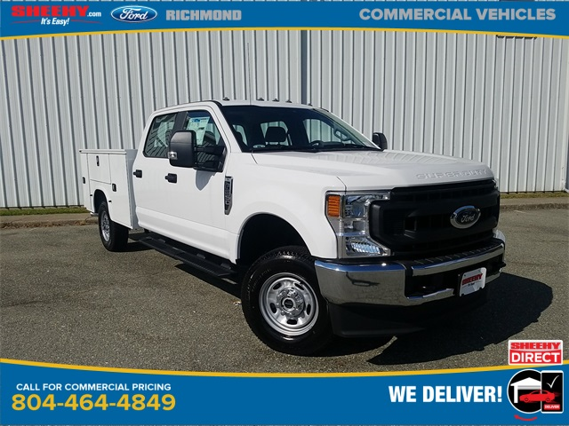 2020 Ford F-250 Crew Cab 4x4, Knapheide Steel Service Body #NEC55804 - photo 1