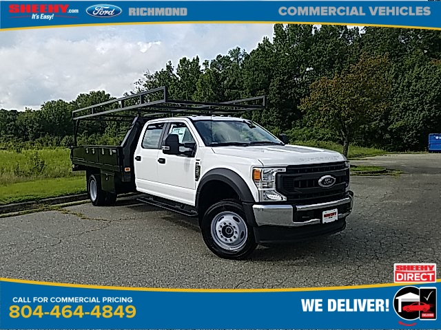 2020 Ford F-450 Crew Cab DRW 4x4, Knapheide Platform Body #NC55838 - photo 1