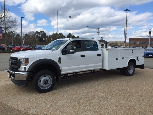 2020 F-450 Crew Cab DRW 4x4, Knapheide Steel Service Body #NC55839 - photo 4
