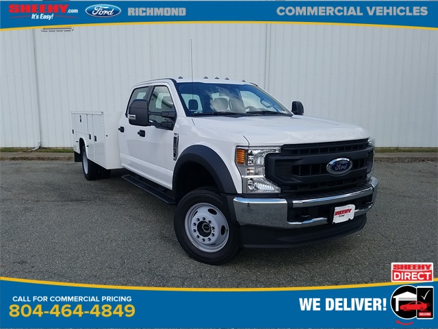 2020 Ford F-550 Crew Cab DRW 4x4, Knapheide Steel Service Body #NC55840 - photo 1