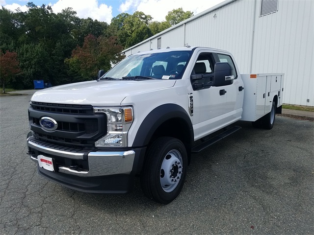 2020 Ford F-550 Crew Cab DRW 4x4, Knapheide Steel Service Body #NC55840 - photo 4