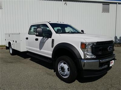 2020 Ford F-550 Crew Cab DRW 4x4, Knapheide Steel Service Body #NC55840 - photo 9